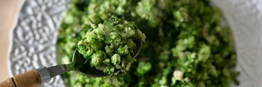Arroz LOW CARB de Brócolis